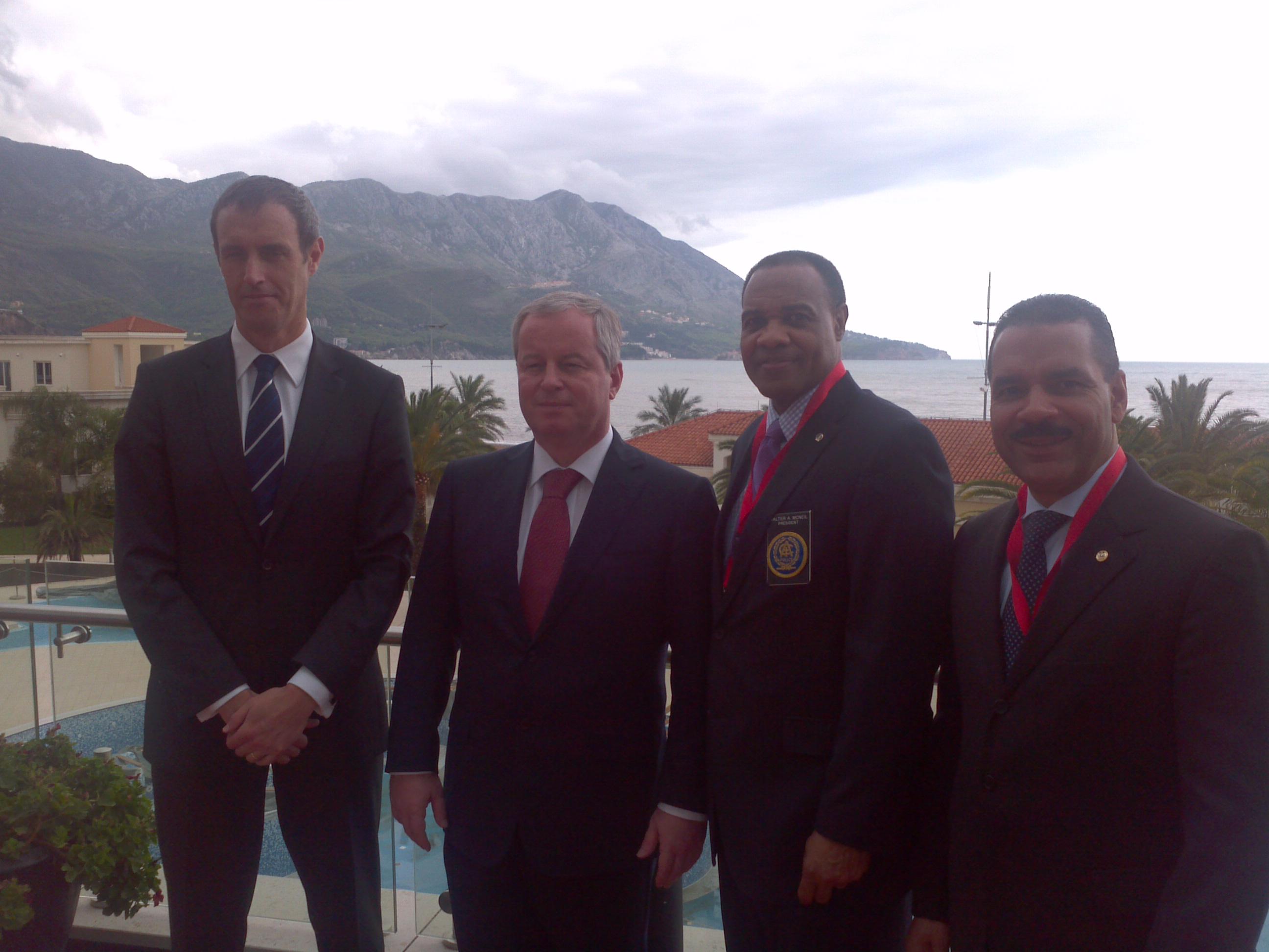 IACP Leadership in Montenegro