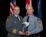 Trooper of the Year Sgt. Adam Kosheba