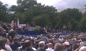 Meeting attendees had the opportunity to attend the National Peace Officers Memorial Service in Washington, D.C.