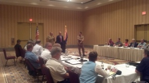 A presentation during the annual IACP Highway Safety Committee midyear meeting