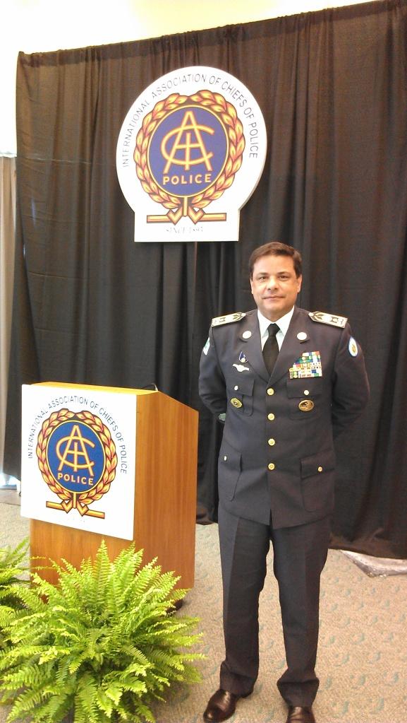 Colonel/General Commander Da Silva