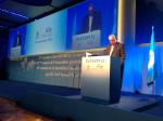 IACP President Craig T. Steckler addresses the INTERPOL general assembly in Rome today.