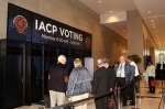 Many IACP participants turned out to vote. Results were announced today.