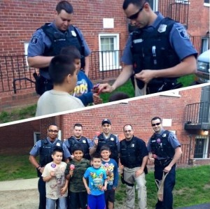 Operation Lollipop. Photo courtesy of Alexandria, Virginia, Police Department.
