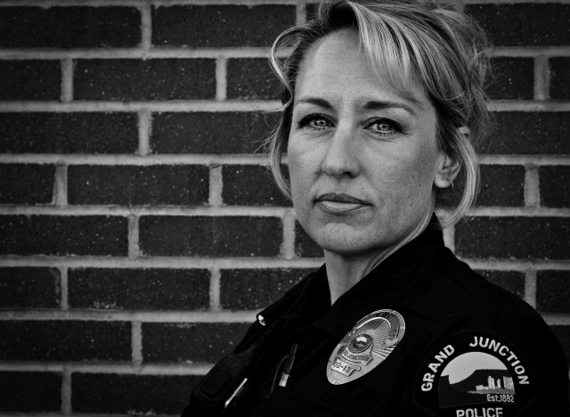 "Officer Suzette Freidenberger has never known a time in her life that she didn't want to be a police officer. ""Being a police officer is in my blood, my family has been in law enforcement for generations,"" said Officer Freidenberger. She considers the GJPD to be her family and proudly wears her badge and protects her community with honor."
