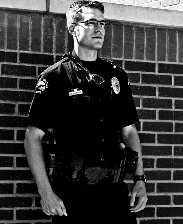 """This is what I was meant to do, and this is what I love to do,"" said Officer Zac McCullough. Officer McCullough is a three year veteran to the Grand Junction Police Department. For Zac, he believes in leaving a positive impact, shifting preconceived notions and supporting both his work community and the community of Grand Junction."